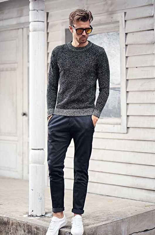 quality straight trousers in casual fashion style