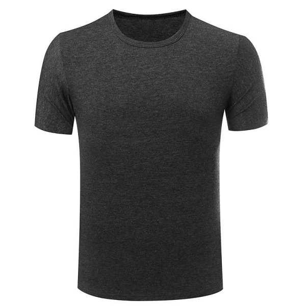 basic t shirt for men with round neck