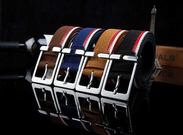 fashion mens belt with luxury waistband