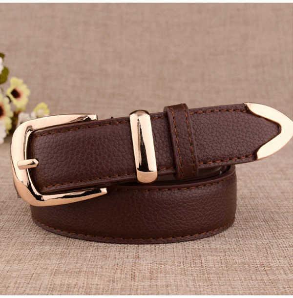 pu leather fashion belt for women