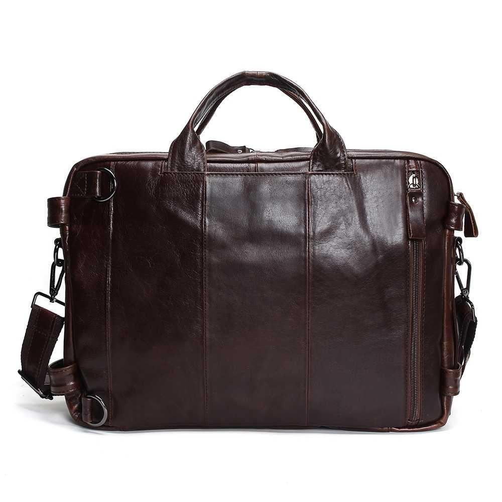 Vintage messenger bag in genuine leather for men  417435771ef