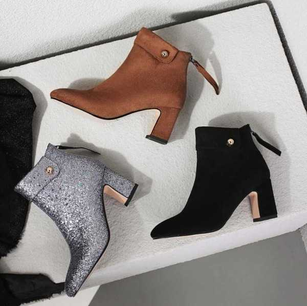 ankle boots in suede leather style for women 15