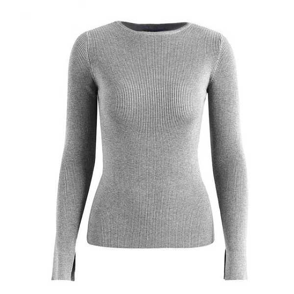 basic knitted sweater for women 14