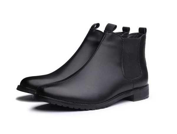 black chelsea boots for men 13