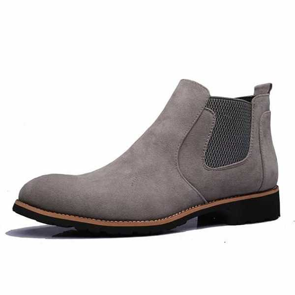 chelsea boots in suede for men 19