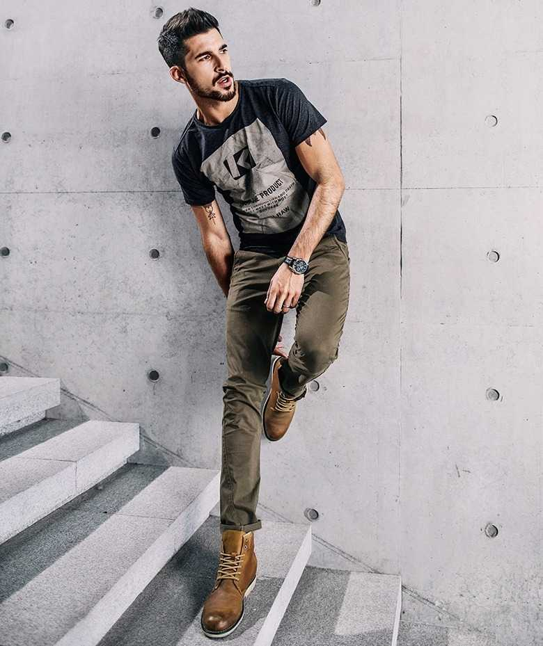 chino pants in slim fit for men 19
