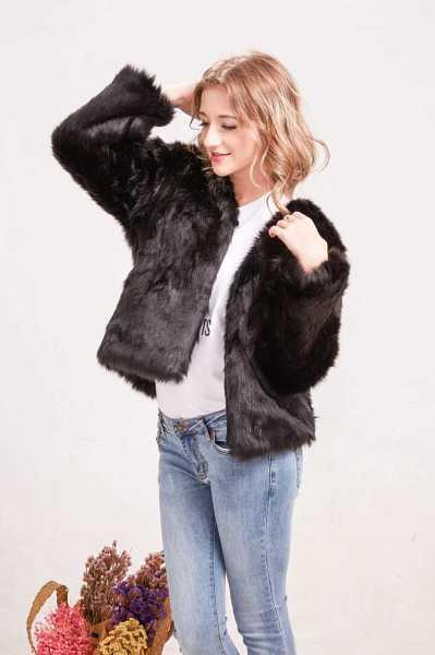 faux fur jacket for women 18