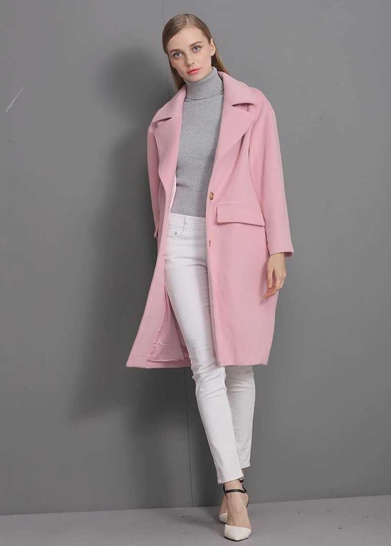 long blended coat for women 1
