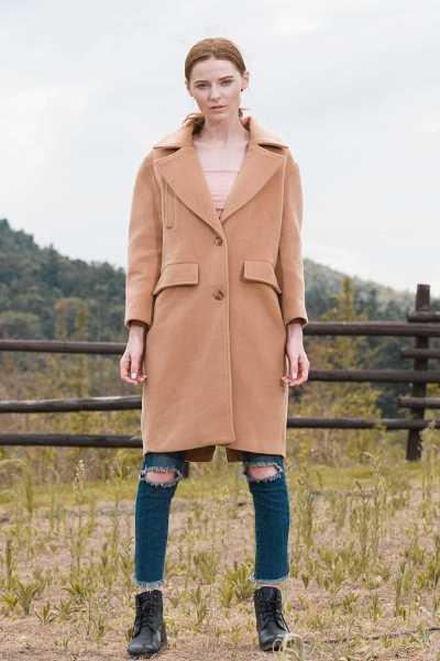 long blended coat for women 2