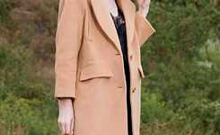 Outfits with long blended coat for women