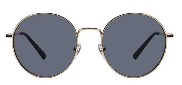 round sunglasses with gold frame 18
