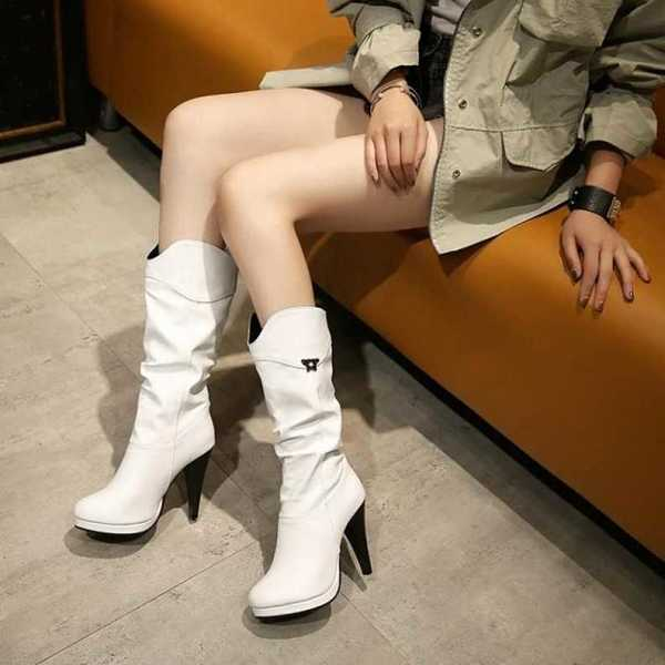 boots in mid calf for women 16