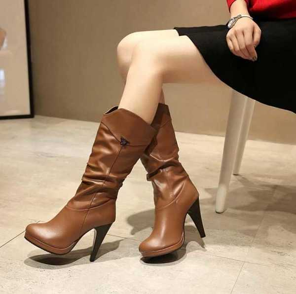 boots in mid calf for women 18