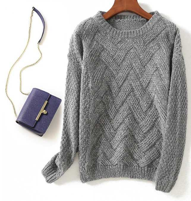 casual knit pullover for women 18