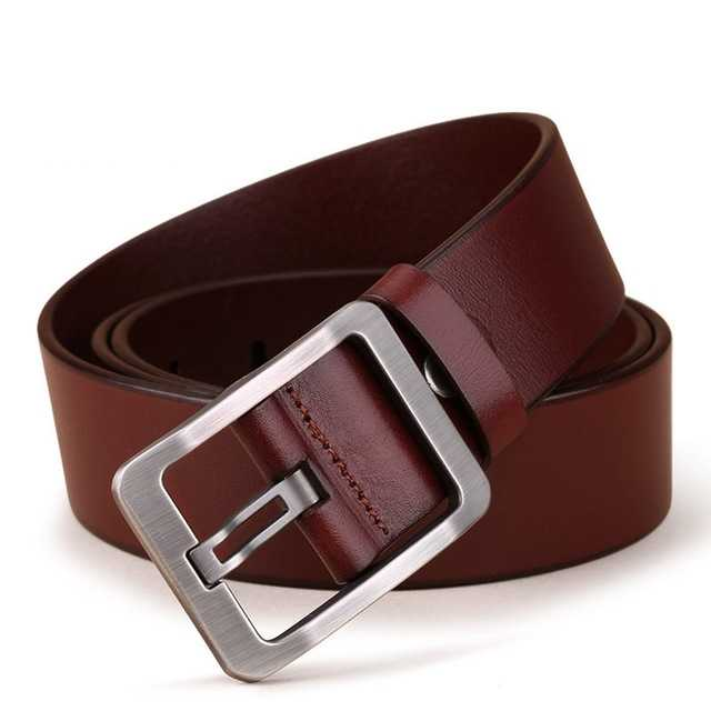 genuine leather belt in cowboy style 1