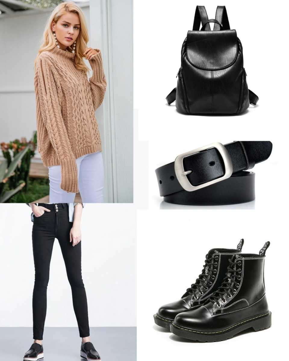 fashion backpack outfits for women
