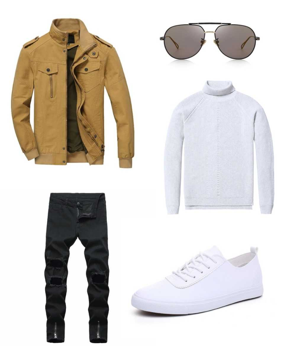 knitwear sweater outfit inspiration