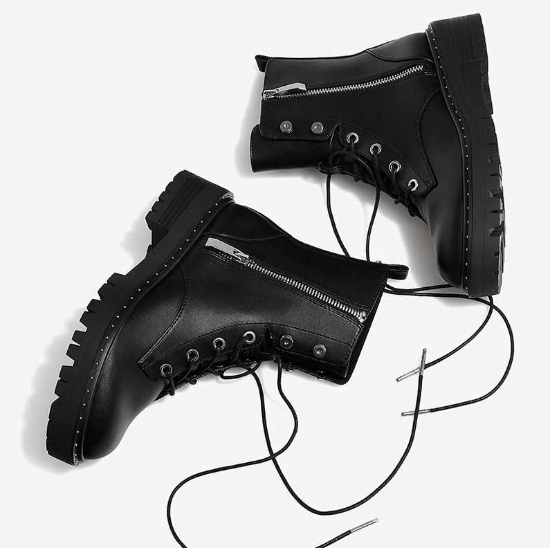 black fashion boots for women 14