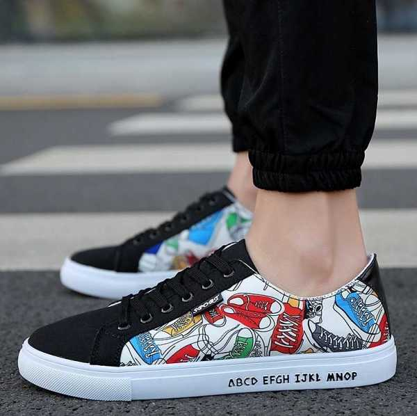 casual fashion sneakers in lace up for men 15