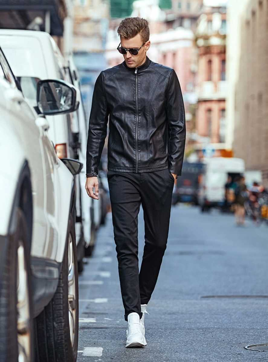 casual fashion trousers in straight fit for men 16