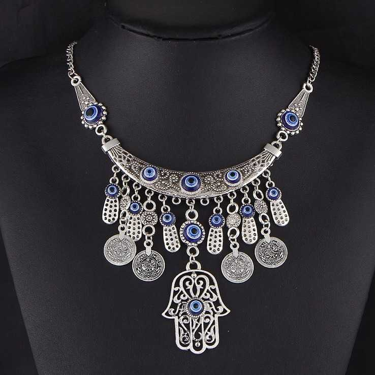 maxi necklace jewelry with pendants 14