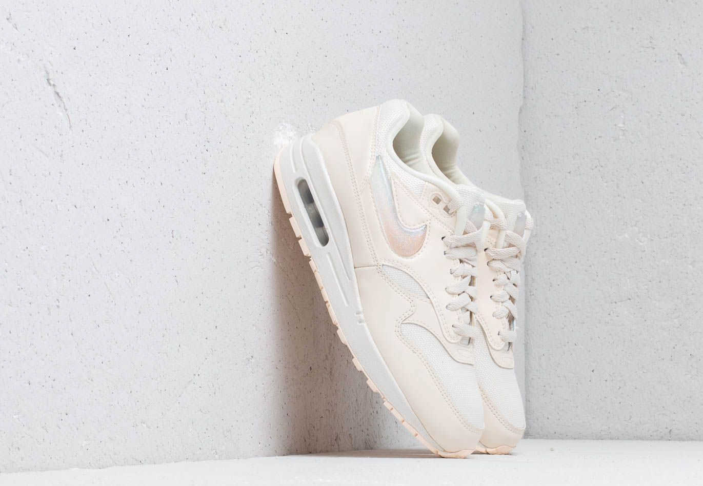 Nike W Air Max 1 Jp Pale Ivory/ Summit White-Guava Ice Footshop ...