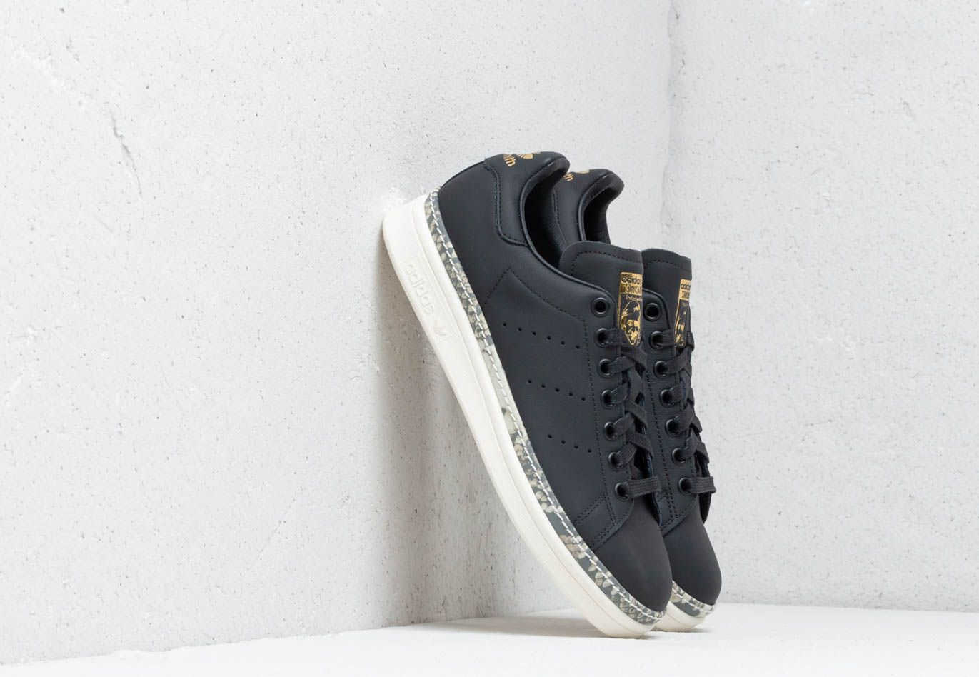 adidas Stan Smith New Bold W Core Black/ Off White/ Supcol Footshop