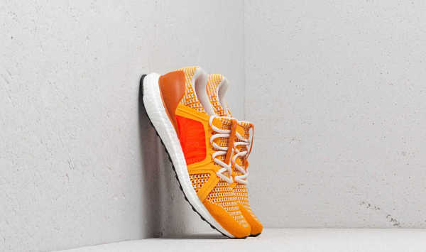 adidas x Stella McCartney Ultraboost Cold Gold/ Rus Orange/ Turbo GOOFASH 30053_8