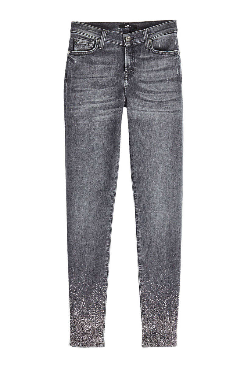 7 for all Mankind The Skinny Crop Jeans GOOFASH 283856