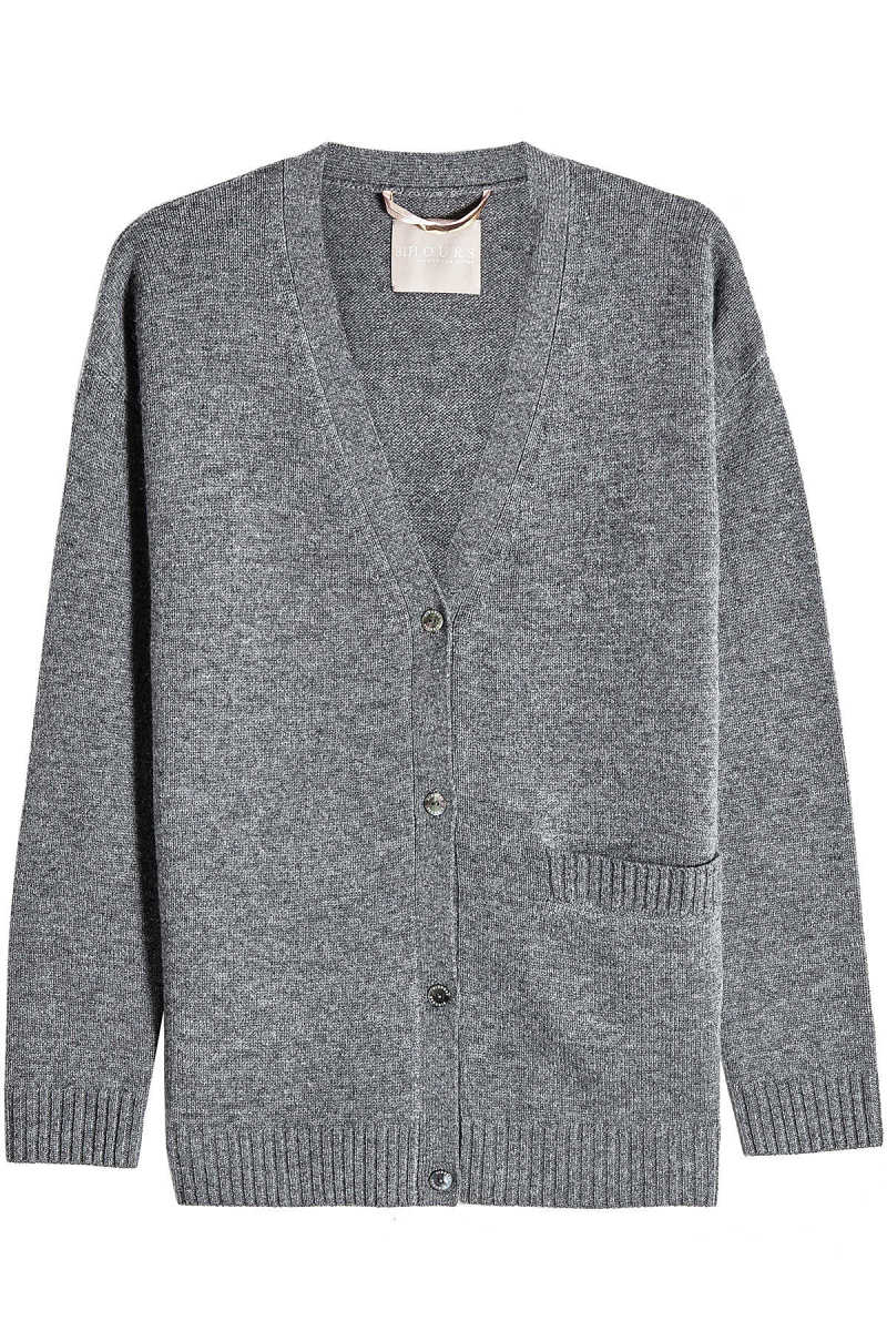 81 Hours Harlow Cardigan in Wool and Cashmere GOOFASH 288542