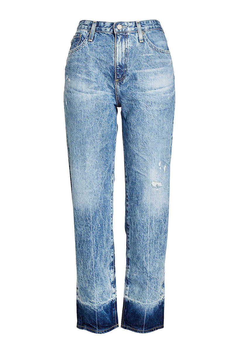 AG Jeans Distressed High Waisted Jeans GOOFASH 262361