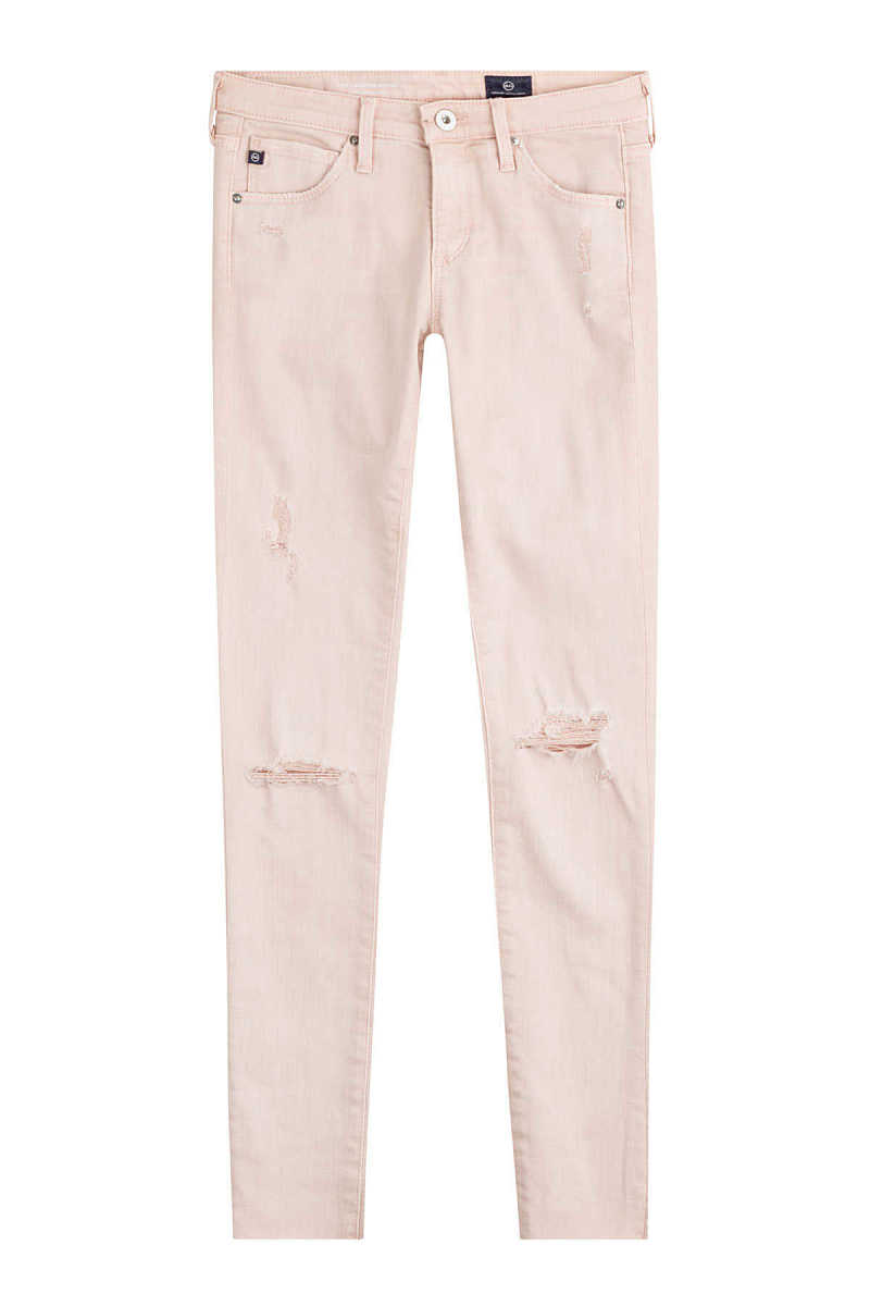 AG Jeans Distressed Skinny Jeans GOOFASH 249221