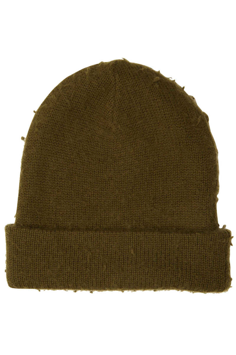 Acne Studios Wool Hat with Cashmere GOOFASH 292878