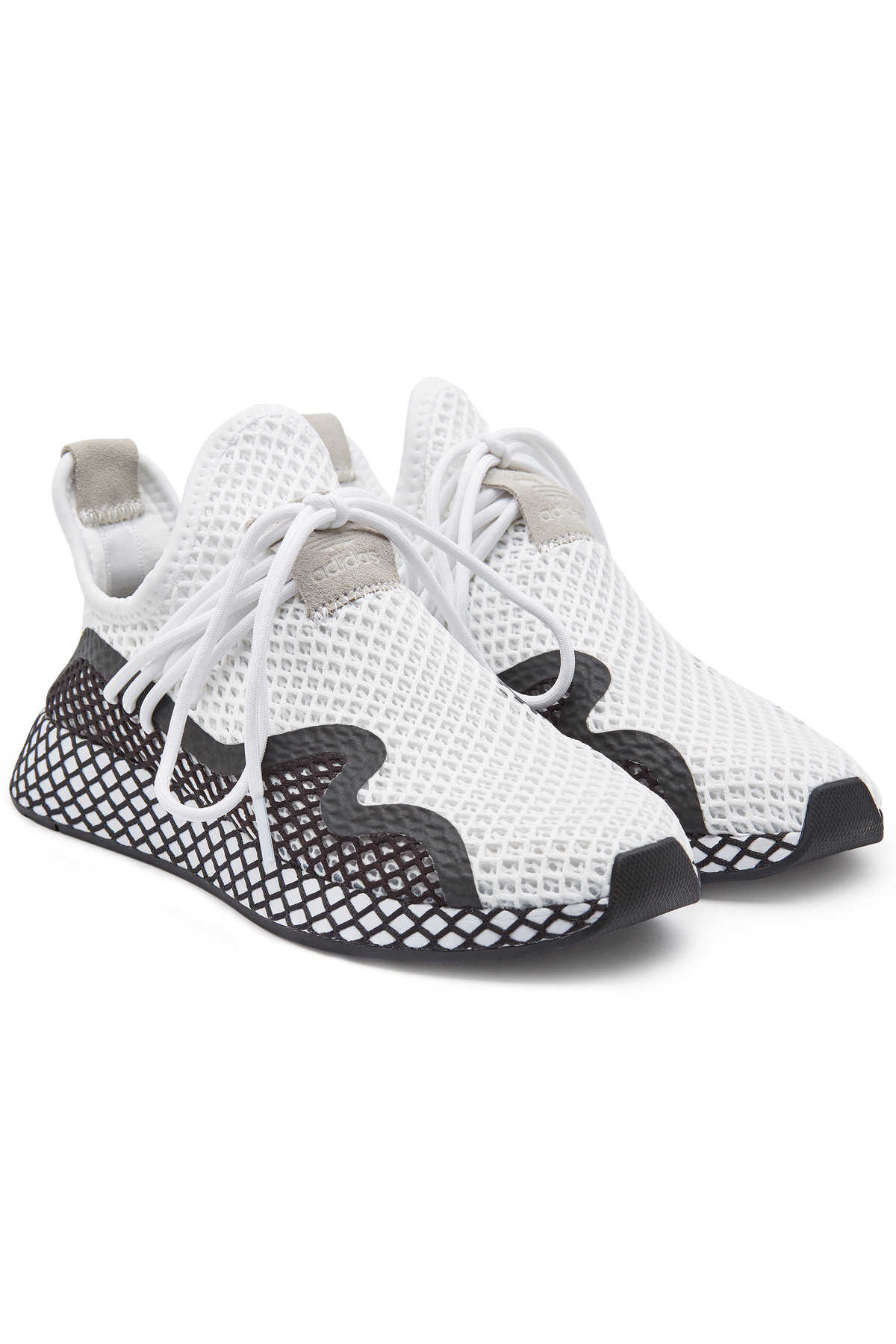 69fd112b499 Adidas Originals Deerupt S Sneakers with Mesh GOOFASH 297725