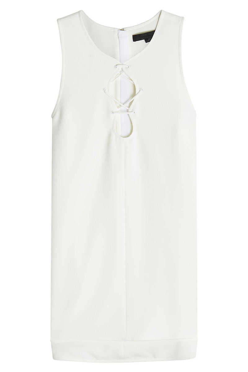Alexander Wang Tank Top with Lace Up Detail GOOFASH 261351