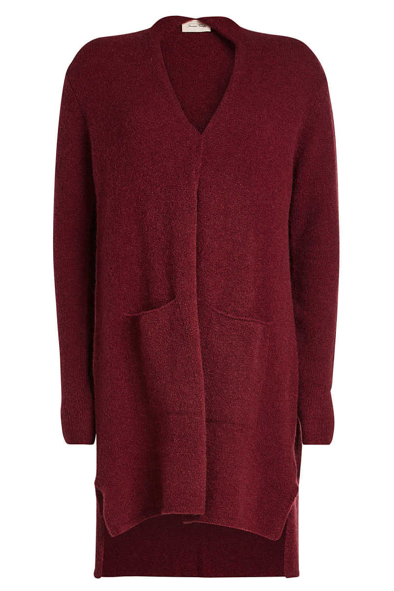 American Vintage Cardigan with Wool and Mohair GOOFASH 288224