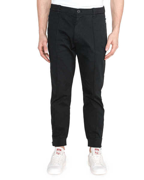 Armani Exchange Trousers Black GOOFASH 278070