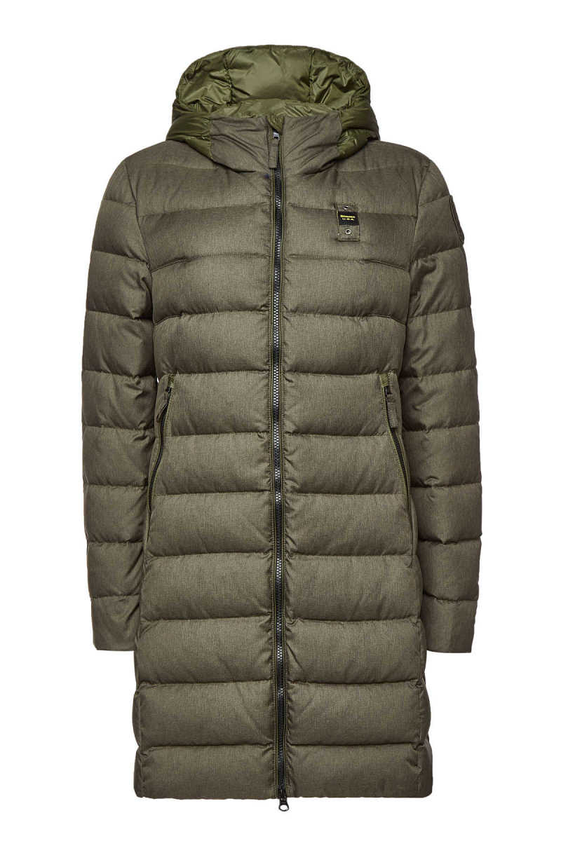 Blauer Impermeabile Quilted Down Coat GOOFASH 294378