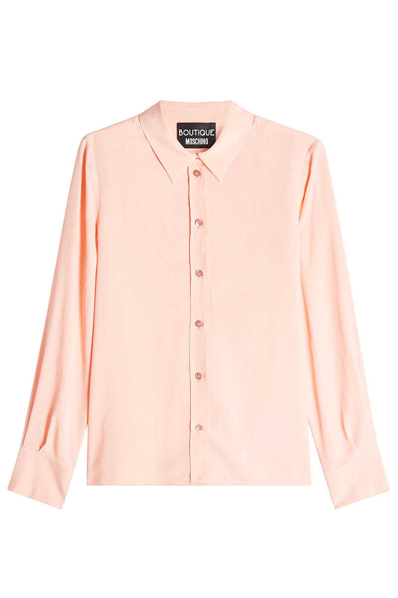 Boutique Moschino Blouse with Silk GOOFASH 261339