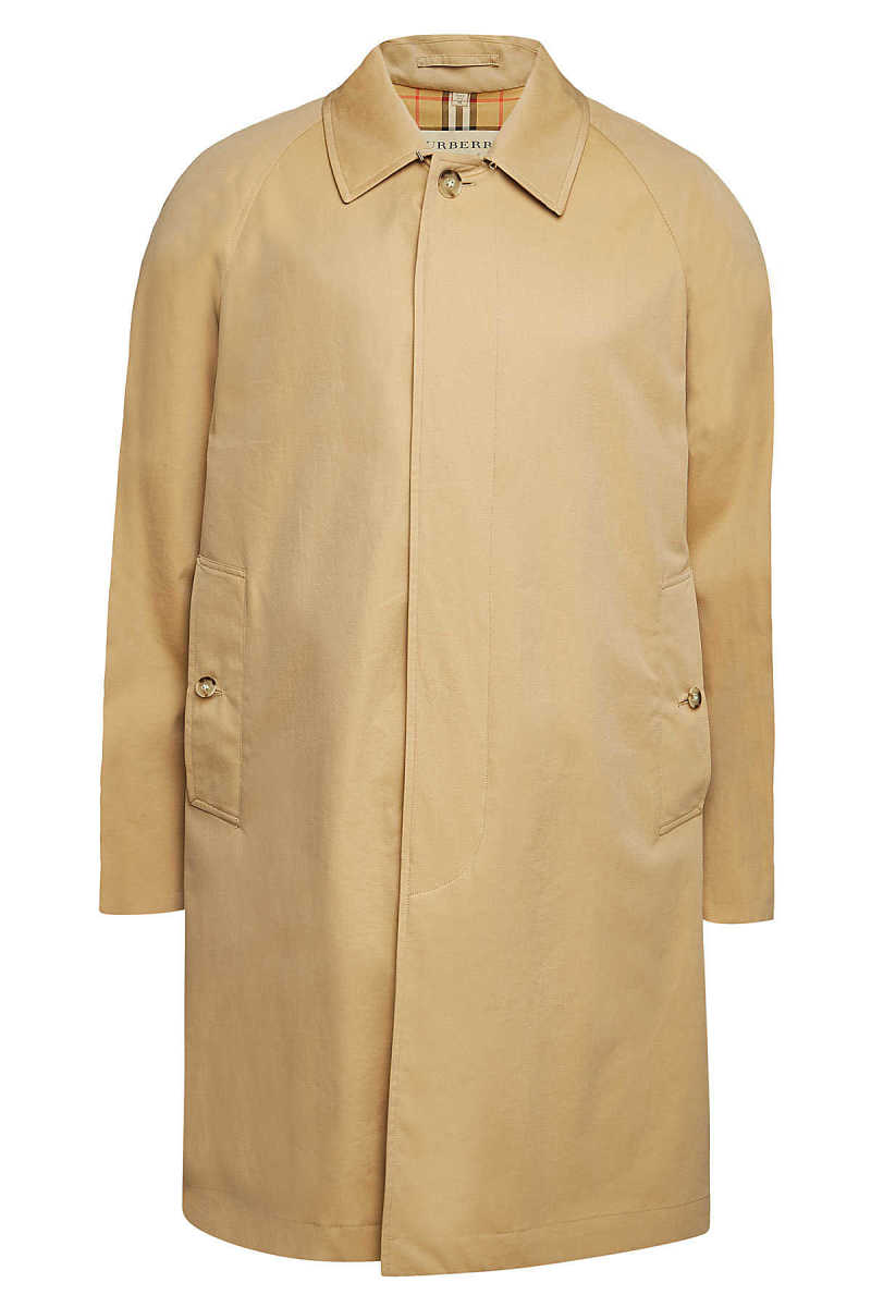 Burberry Camden Cotton Trench Coat GOOFASH 300214