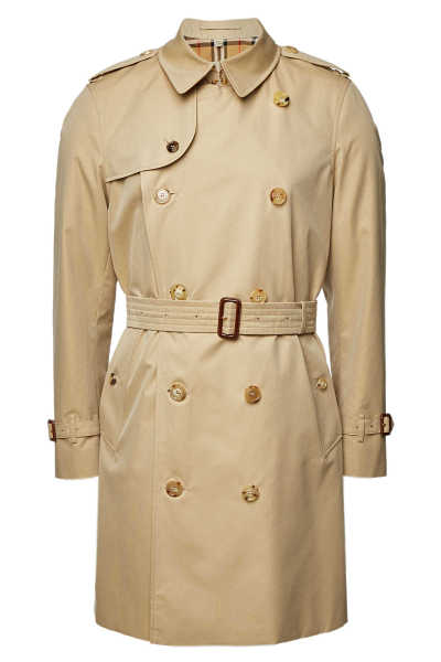 Burberry Chelsea Cotton Trench Coat GOOFASH 300211