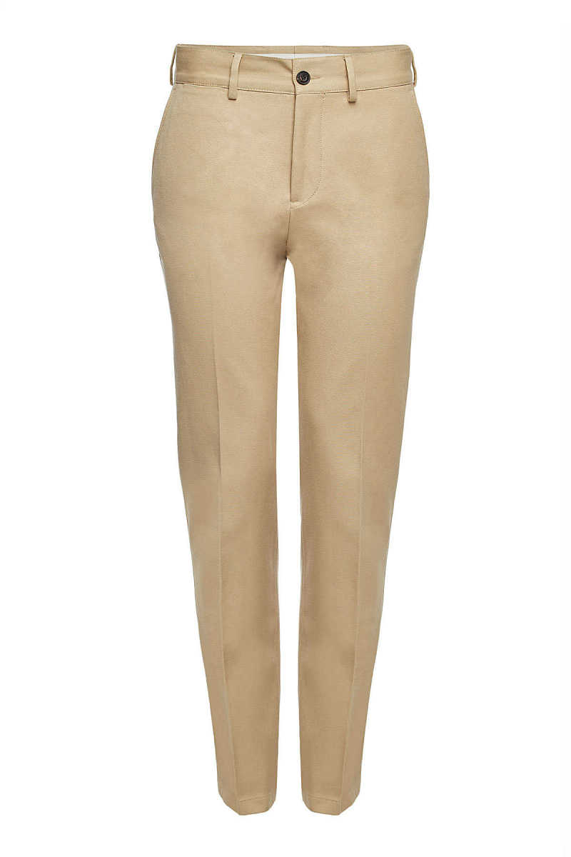 Burberry Chinos with Cotton GOOFASH 295049