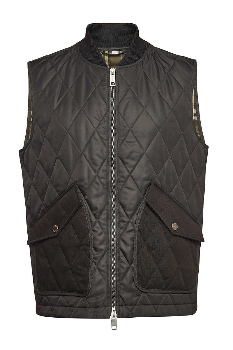 Burberry Quilted Shipton Vest GOOFASH 300210