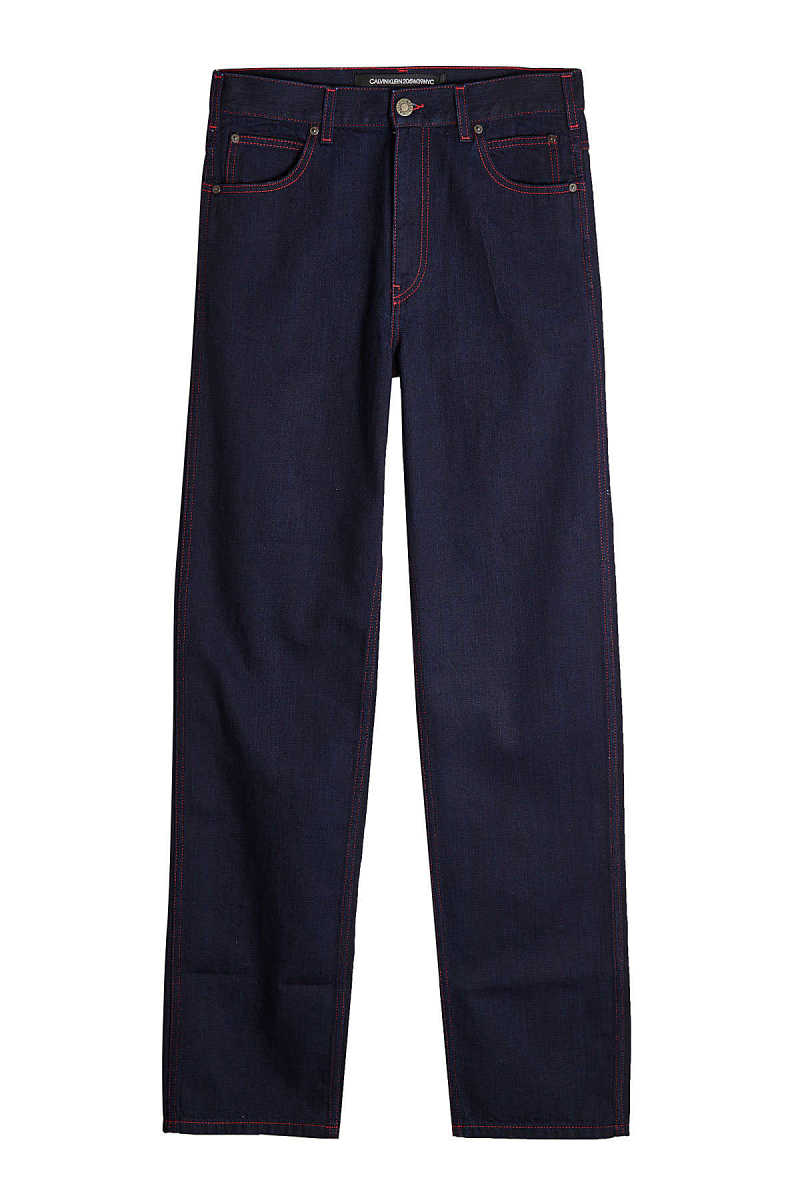 CALVIN KLEIN 205W39NYC Straight Jeans with Contrast Stitching GOOFASH 280081