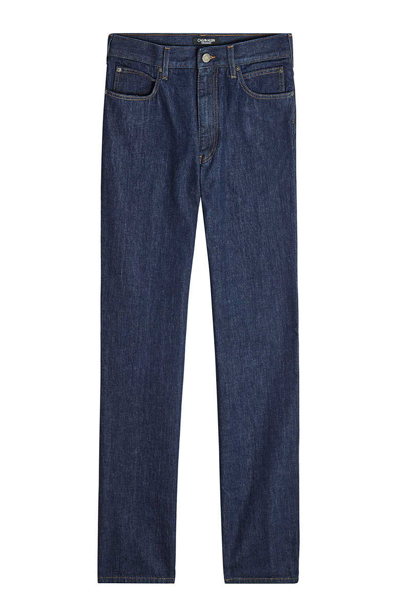 CALVIN KLEIN 205W39NYC Straight Jeans with Contrast Stitching GOOFASH 289016
