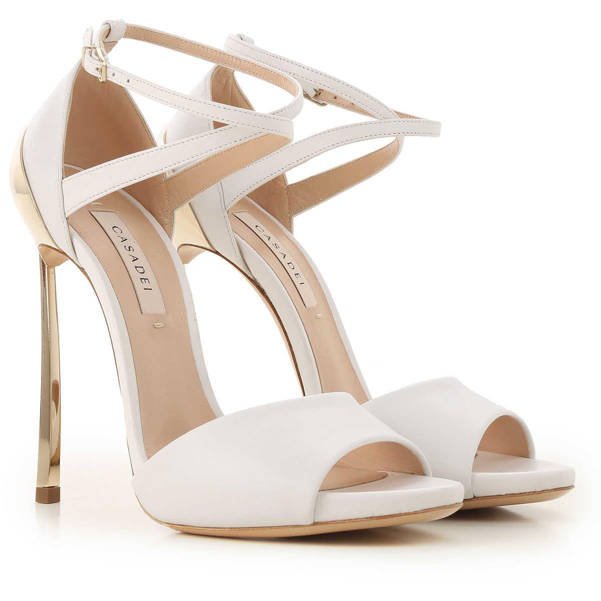 white sandals on sale