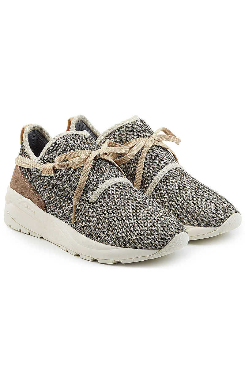 Casbia William Mesh Sneakers with Suede GOOFASH 265987