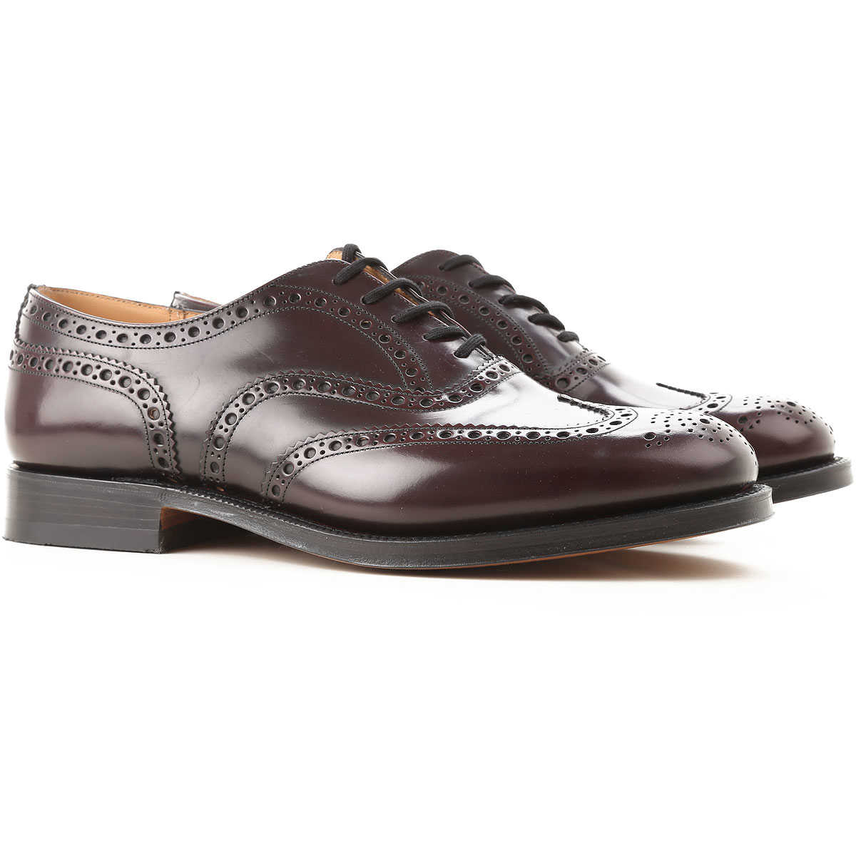 Brogue Shoes On Sale, Cordovan, Leather