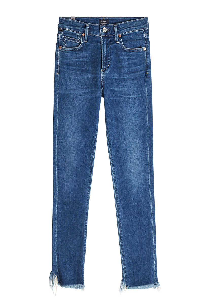 Citizens of Humanity Rocket Crop High Rise Skinny Jeans GOOFASH 287702