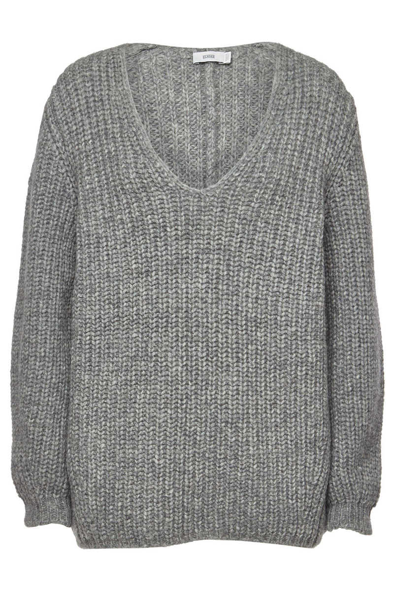 Closed Pullover with Alpaca and Wool GOOFASH 290337